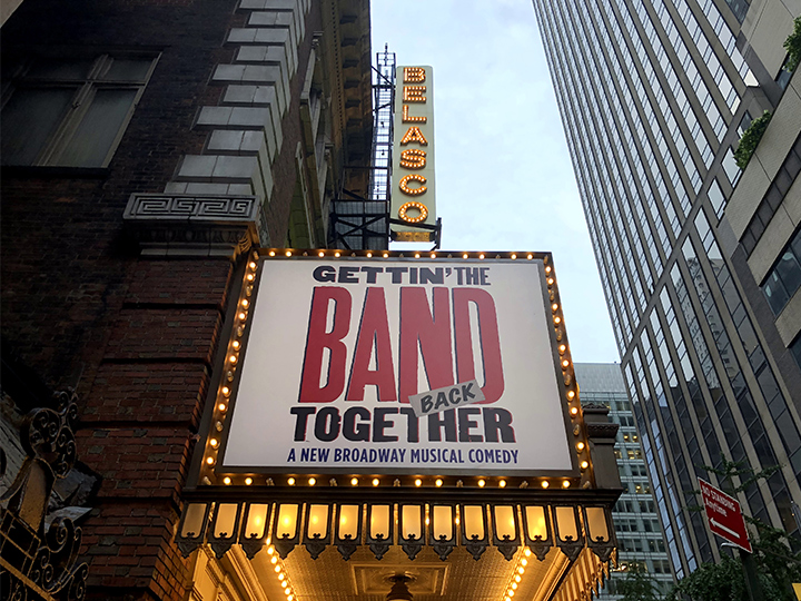 Gettin' the Band Back Togetherの劇場:ベラスコ劇場(Belasco Theatre)