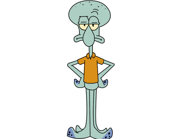 イカルド(Squidward Tentacles)