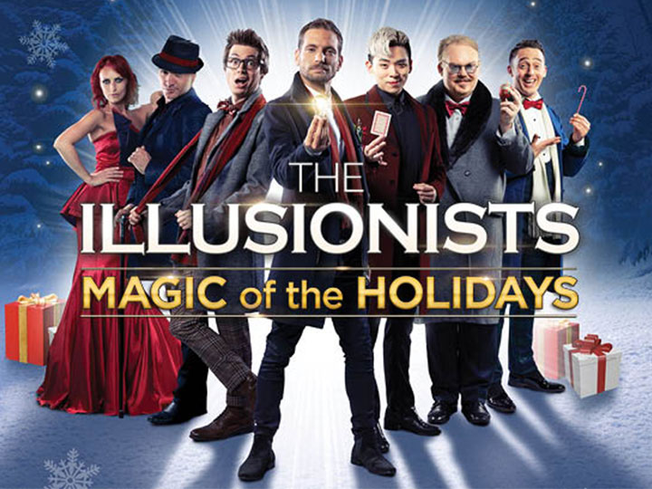 2019年ホリデーシーズン限定ショー「The Illusionists—Magic of the Holidays」