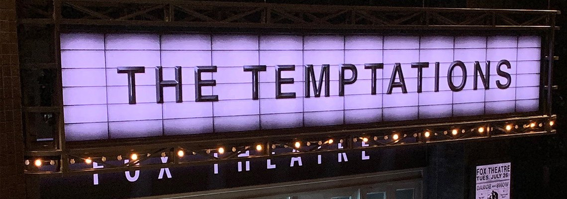 Imperial Theatreにて上演中のエイント・トゥー・プラウド(Ain't Too Proud)